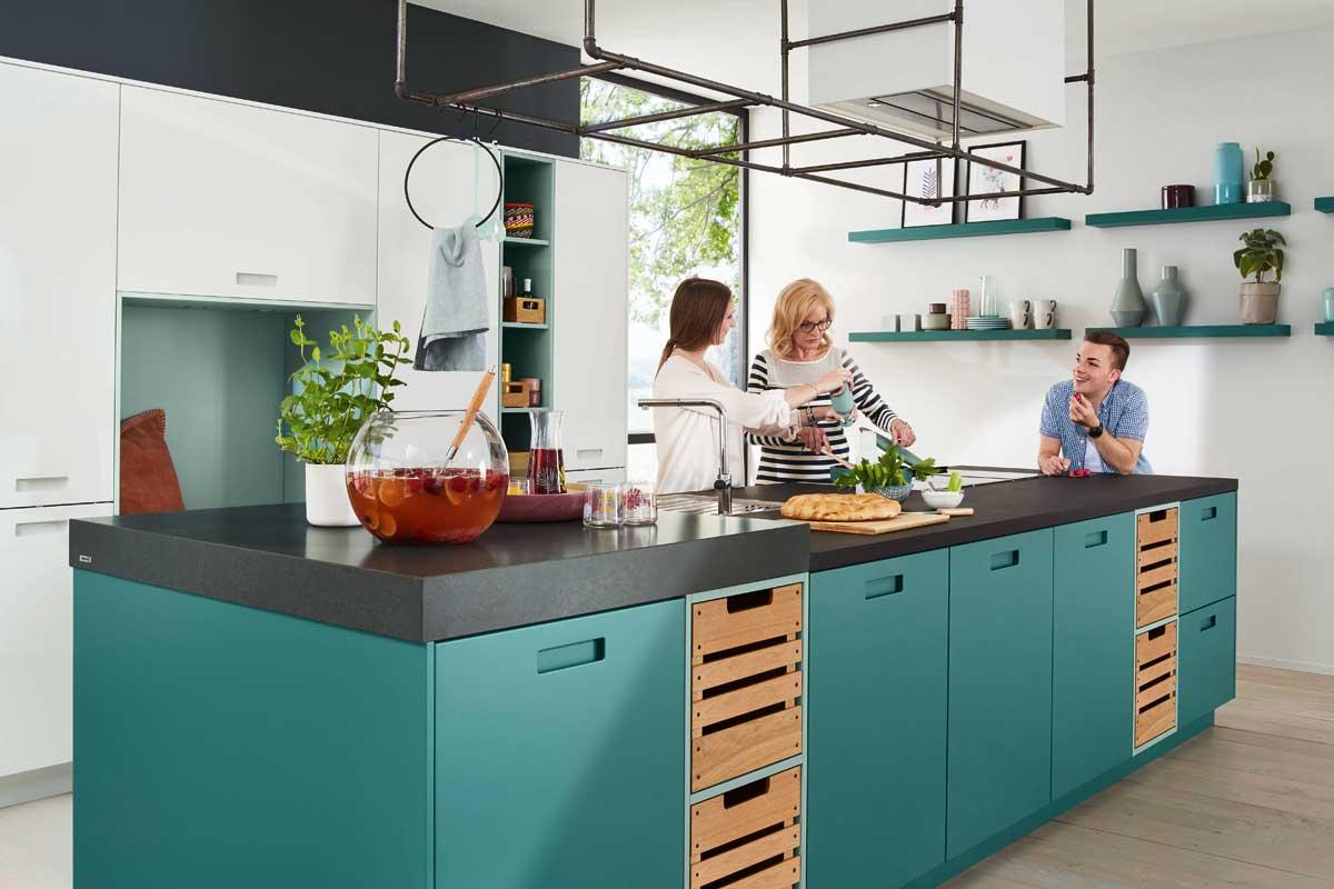 Keuken Met Zithoekje : Feel b 40299 ballerina küchen: vind je droomkeuken